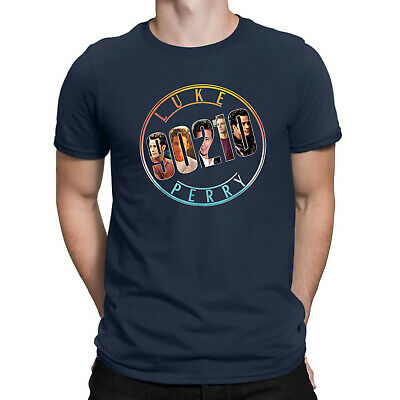 Beverly Hills 90210 Luke Perry Dillion T Shirt Dylan Mckay Retro Tee Cotton Top