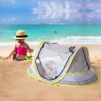 Pop Up Baby Beach Tent Kiddies Portable Sun Shade Shelter Anti-UV Outdoor UK A+