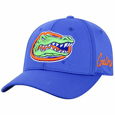 meet b7134 28bed Florida Gators Official NCAA One Fit Phenom Hat Cap Curved Bill Memory Top  of th