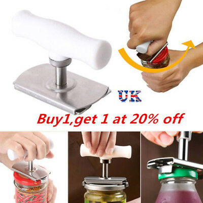 Efficiency Bottle Jar Can Lid Opener Cap Grip Twister Easy Remover Kitchen- Tool