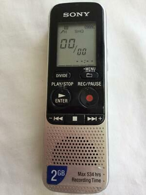 GREAT SONY  ICD-BX112 Digital IC Voice Recorder Dictaphone Handheld