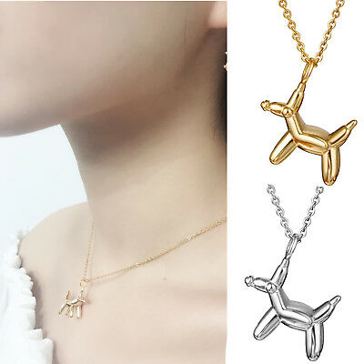 Womens Girl Fashion Dog Adjustable Pendant Necklace Cute Gift Memorial Puppy New