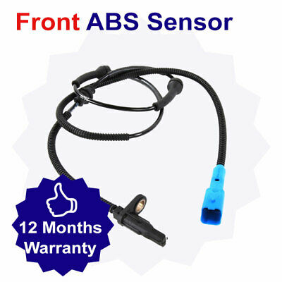 Front ABS Sensor With Wheel Bearing for Vauxhall Vectra 2.2 (11/03-10/04)