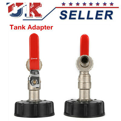 "1/2 "" IBC Tank Tap Adapter Connectors Ball Drain Tap Replacement Valve Fitting"