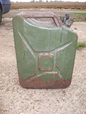20L Jerry Can Fuel Can Metal 20 Litre Storage