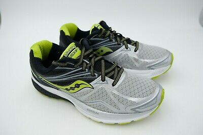 los angeles 5fdce a48b3 Saucony Ride 9 Running Shoes - Men s Silver Black Lime Size Us 9 EU 42.5  Used