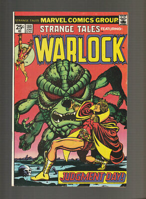 Strange Tales # 180  First Appearance of Gamora !  grade 6.5 scarce book !