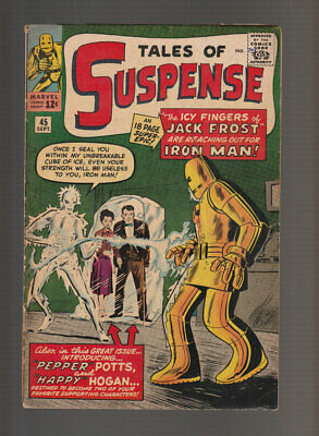 Tales of Suspense # 45  The Icy Fingers of Jack Frost !  grade 3.0 scarce book !