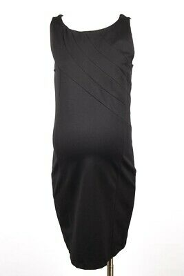 09fde132f4d Rosie Pope Maternity Claire black S 4 6 stretch ponte knit sheath dress NEW   188