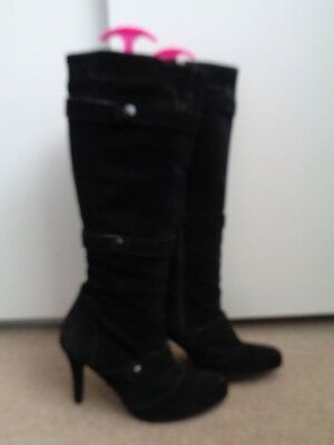 471b40ec92e1 Duo   Ted   Muffy Black Suede Boots