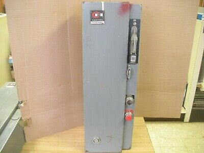 Cutler Hammer AC Magnetic Combination Starter With Motor Switch Size 1