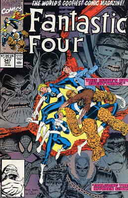 Fantastic Four (Vol. 1) #347 VF/NM; Marvel | save on shipping - details inside