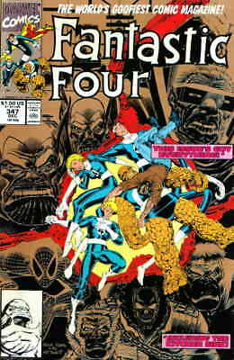 Fantastic Four (Vol. 1) #347 (2nd) VF/NM; Marvel | save on shipping - details in
