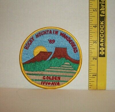 Unused Colorado Rocky Mountain Wanderers Golden 1Vv Ava 1989  Patch