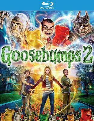 Goosebumps 2 (Blu-ray Disc ONLY, 2018)