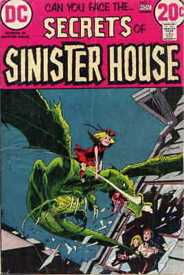Secrets of Sinister House #7 FN; DC | save on shipping - details inside