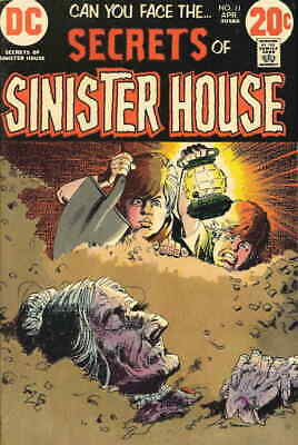Secrets of Sinister House #11 VG; DC | low grade comic - save on shipping - deta