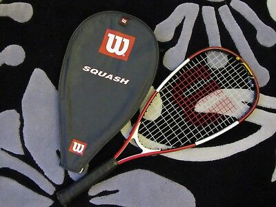Wilson Child's Squash racket Midplus Pro Staff TOUR JR