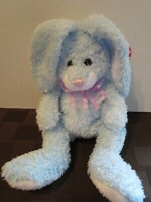 858c232f101 TY BEANIE BABIES Happily the blue bunny