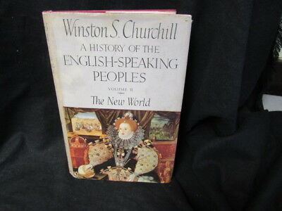 A HISTORY OF THE ENGLISH SPEAKING PEO, Churchill, Winston S, 1956, CASSELL, Acce