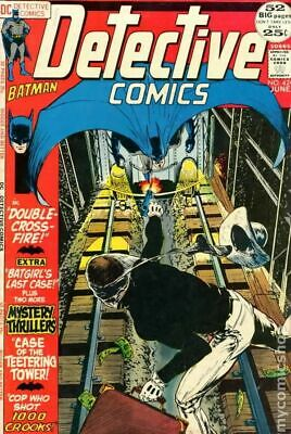Detective Comics (1st Series) #424 1972 GD/VG 3.0 Stock Image Low Grade