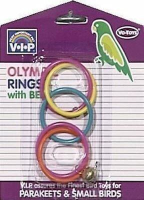 Votoys Xpet Bird Small Olympic Rings Birds Toy For Cage. In The Usa