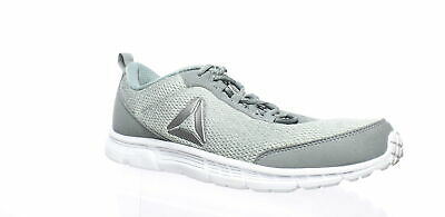 0c5de45ddf11 REEBOK SPEEDLUX 3.0 Mens Gray Textile Athletic Lace Up Running Shoes ...