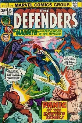 Defenders (1st Series) #15 1974 VG Stock Image Low Grade