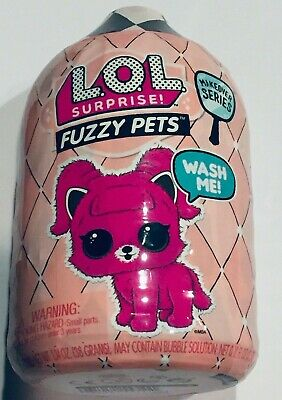 LOL Surprise Fuzzy Washable Pets Makeover Series 5 - NEW
