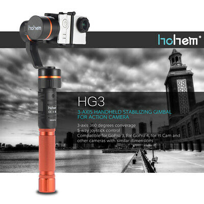hohem HG3 3Axis Handheld Stabilizing Gimbal Stabilizer for GoPro Hero 3/4 Xiaomi