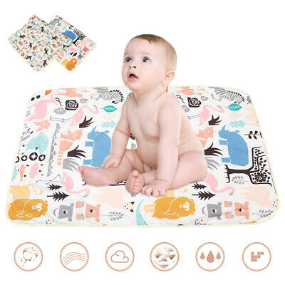 Waterproof Baby Diaper Changing Mat Travel Home Change Pad Folding Soft Washable