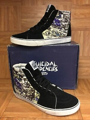 RARE🔥 VANS Sk8-Hi Suicidal Tendencies Sz 13 Men s Shoes Skateboarding VNTG b81a7adc2