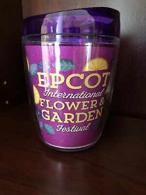 Disney Parks Epcot Flower Garden Festival 2019 Mini Tumbler-VIOLET LEMONADE NEW