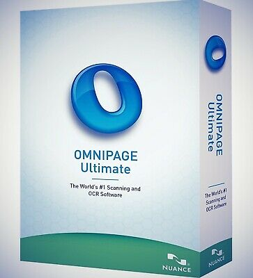 Nuance OmniPage Ultimate 19-OCR Scanning Software-Licence Key 2019 software+🔑