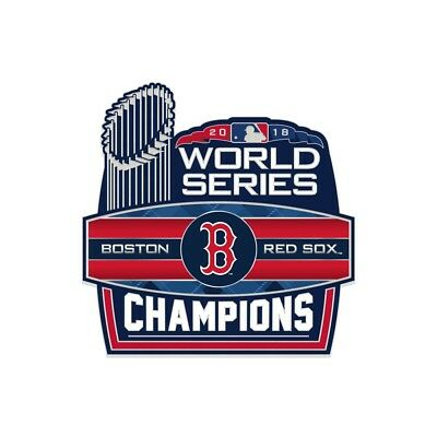 78fc3de3bf1 Boston Red Sox 2018 World Series Champions With Trophy Collector Pin New
