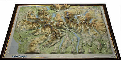 Lake District Raised Relief Map - 9781906473013