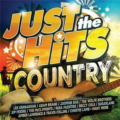 JUST THE HITS COUNTRY - Various Artists 2CD *NEW* 2019