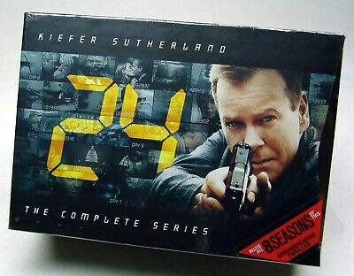24: The Complete Series (DVD, 2010, 55-Disc Set) - SEALED