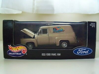 Hot Wheels Collectibles - 1955 Ford Panel Truck / Van - 1/43 Diecast