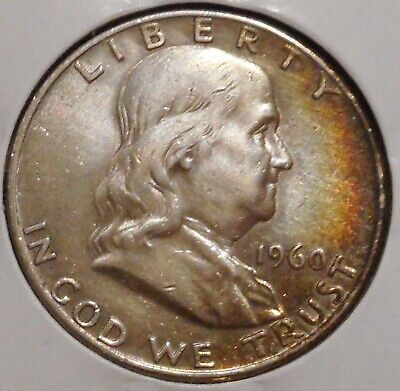 Franklin Half Dollar - 1960-D - Historic Silver! - $1 Unlimited Shipping