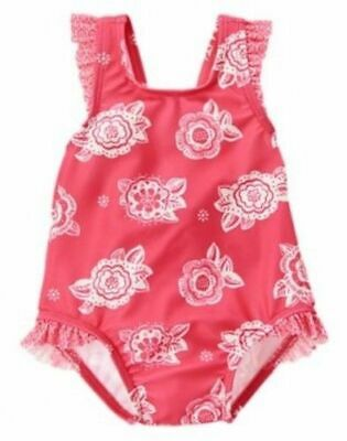 Baby & Toddler Clothing Brave New Girls Gymboree Floral Dress Panty 12-18 Months Coral Aqua White