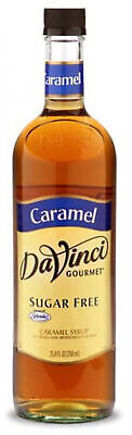 DaVinci Gourmet Coffee Syrup, Sugar Free Caramel, 25.4 Fluid Ounce (Pack Of 4)