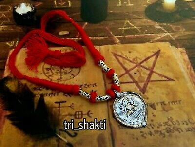 1000X POWER AGHORI Kali Ashta Siddhi Necklace Obtain 8 Occult Psychic Powers