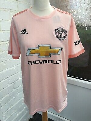 Manchester United 2018/2019 Away Football Shirt Mufc Samzy 8 Shirt New With Tags