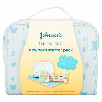 Johnson's Baby Sensitive Touch New Born Starter Pack Top to Toe Gift Set Present