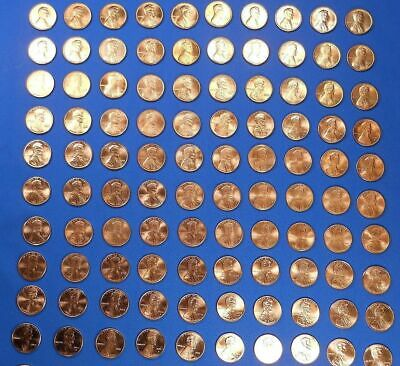 1975-2013 PD Lincoln Cent Penny Set Collection Complete 89 Coins Choice BU!