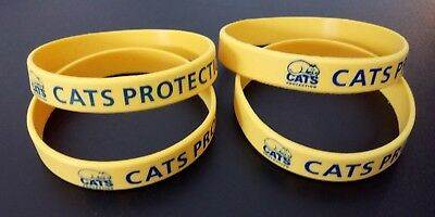 Charity Rubber Wristband - Cats Protection