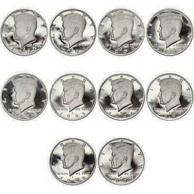*stunning Complete Bu Kennedy Half Dollar Collection 1964-2018Pd ***35 Proofs!!!