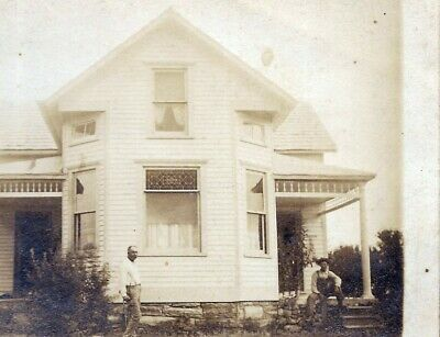 ca1905 Morehouse / Morley Missouri real photo postcard of late Victorian house