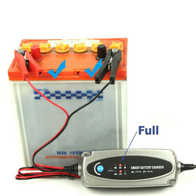 Multi MXS 5.0 12V Car Battery Smart Trickle Charger & FREE INDICATOR 56-382